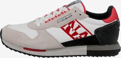 NAPAPIJRI Sneaker in beige / rot / schwarz / weiß, Produktansicht