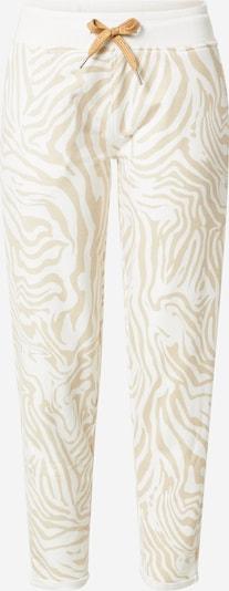 Key Largo Pantalon en camel / blanc, Vue avec produit