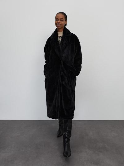 EDITED Winter coat 'Pheline' in Black, View model