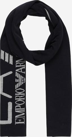 Écharpe EA7 Emporio Armani en noir