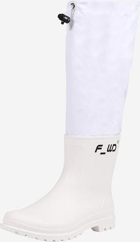 Cizme de cauciuc de la F_WD pe alb