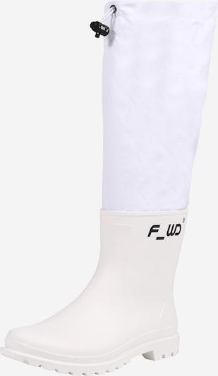 F_WD Gummistiefel in schwarz / weiß / naturweiß, Produktansicht