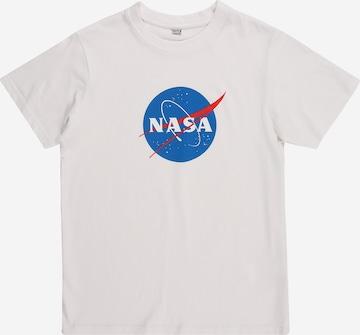 T-Shirt Mister Tee en blanc