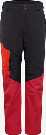 ZIENER Pantalón de montaña 'TOLOZA' en rojo / negro, Vista del producto