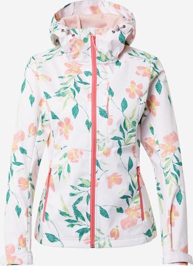 ICEPEAK Zunanja jakna 'BELLEVILLE' | rumena / zelena / roza / bela barva, Prikaz izdelka