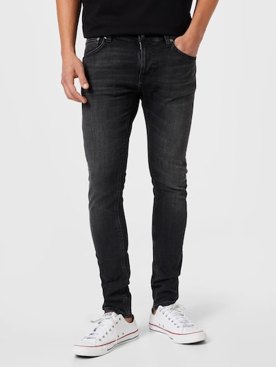 Nudie Jeans Co Jeans in black denim, Modelansicht