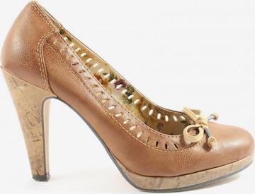 van der Laan High Heels & Pumps in 38 in Brown