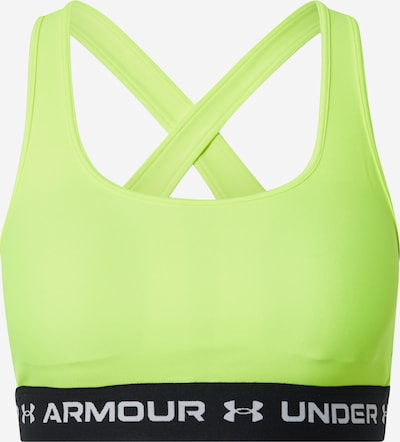 UNDER ARMOUR Sports Bra in Yellow / Black / White, Item view