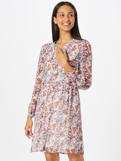 VILA Shirt Dress 'AMIONE' in Mixed colors / natural white, View model