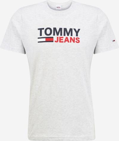 Tommy Jeans Shirt in de kleur Nachtblauw / Lichtgrijs / Rood / Wit, Productweergave