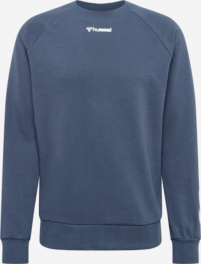 Hummel Sportsweatshirt in taubenblau / weiß, Produktansicht
