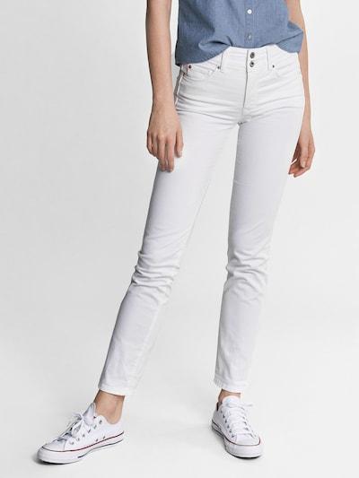 Salsa Jeans 'Secret' in white denim, Modelansicht
