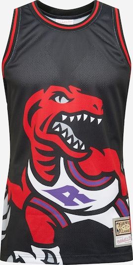 Mitchell & Ness Shirt 'BLOWN OUT FASHION' in Purple / Red / Black / White, Item view