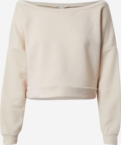 Miss Selfridge Sweat-shirt en crème / beige clair, Vue avec produit