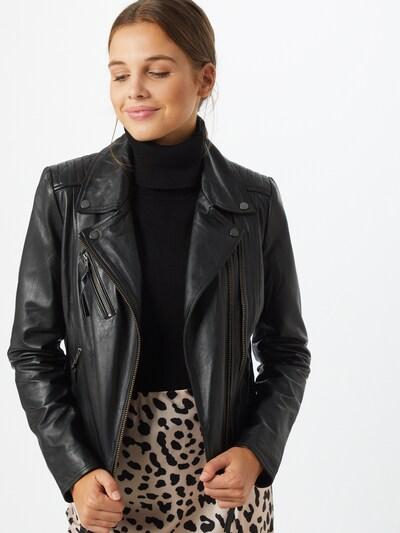 VILA Overgangsjakke i sort, Modelvisning