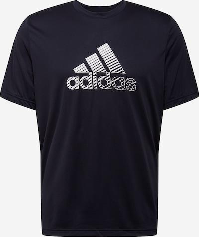 ADIDAS PERFORMANCE Sporta krekls bazaltpelēks / melns / balts, Preces skats