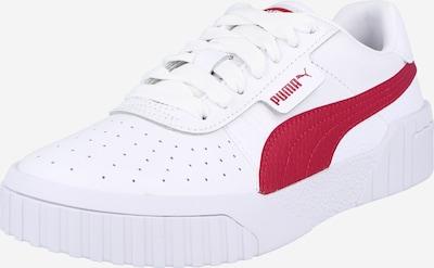 PUMA Zemie brīvā laika apavi 'Cali', krāsa - sarkans / balts, Preces skats