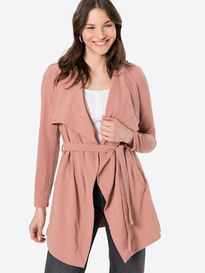 OBJECT Abrigo de entretiempo 'ANNLEE' en rosa, Vista del modelo