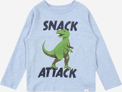 GAP T-Shirt en marine / bleu clair / vert, Vue avec produit