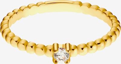Heideman Ring 'Elio' in gold / transparent, Produktansicht