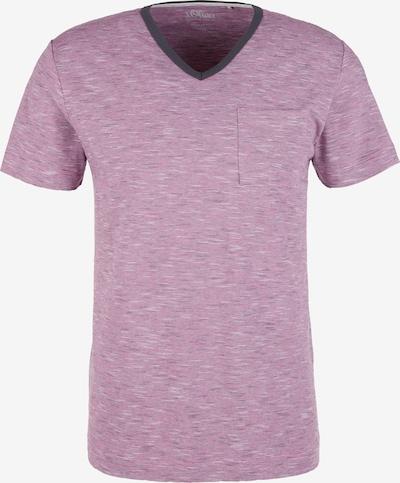 s.Oliver Shirt in lilameliert, Produktansicht