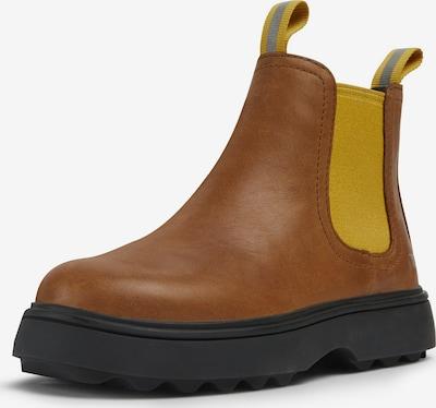 CAMPER Stiefelette 'Norte' in braun / gelb / grau, Produktansicht