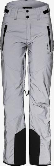 CHIEMSEE Sporthose 'Kizzy' in schwarz / silber, Produktansicht