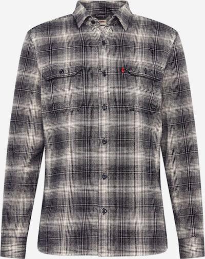 LEVI'S Hemd 'JACKSON WORKER' in grau / schwarz, Produktansicht