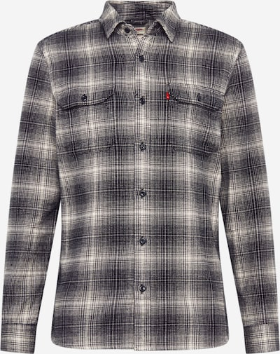 LEVI'S Bayerisk skjorte 'JACKSON WORKER' i grå / sort, Produktvisning
