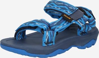 TEVA Chaussures ouvertes en bleu nuit / bleu clair / gris foncé / violet clair / blanc, Vue avec produit