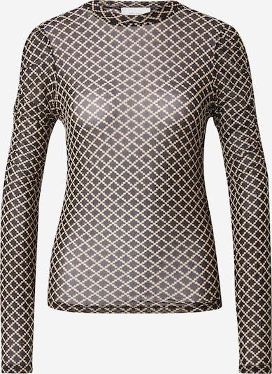Neo Noir Bluse 'Ketter' in beige / schwarz, Produktansicht