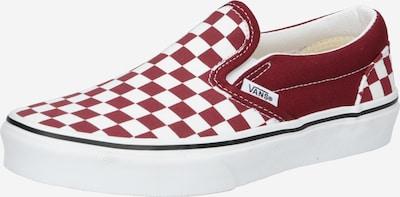 VANS Sneaker in rubinrot / weiß, Produktansicht