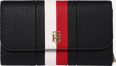 TOMMY HILFIGER Portemonnaie  'ESSENCE' in dunkelblau / rot / weiß, Produktansicht