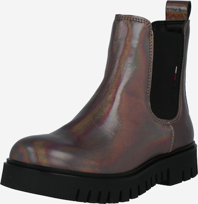 Tommy Jeans Chelsea Boots in Silver grey / Fire red / Black / White, Item view