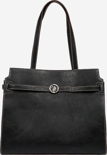 U.S. POLO ASSN. Bolso de mano 'Argentario' en negro, Vista del producto