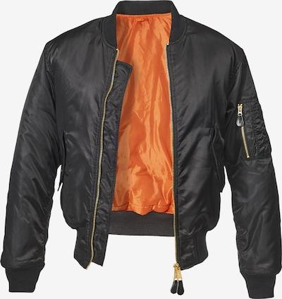 Brandit Jacke 'MA1 Bomber Jacket ' in schwarz, Produktansicht