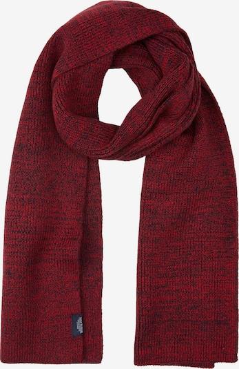 TOM TAILOR Sjaal in de kleur Rood / Donkerrood, Productweergave