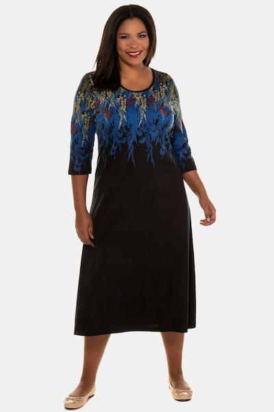 Ulla Popken Kleid in mischfarben / schwarz, Modelansicht