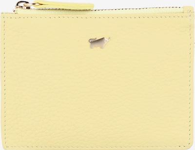 Braun Büffel Geldbörse in gelb, Produktansicht