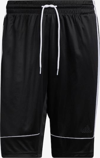 ADIDAS PERFORMANCE Pantalon de sport 'Creator 365' en noir / blanc, Vue avec produit