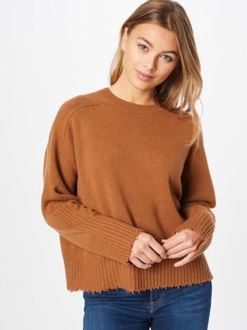 AllSaints Sweater 'Kiera' in Brown