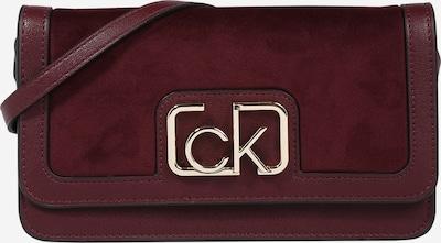 Calvin Klein Clutch in de kleur Goud / Bessen, Productweergave