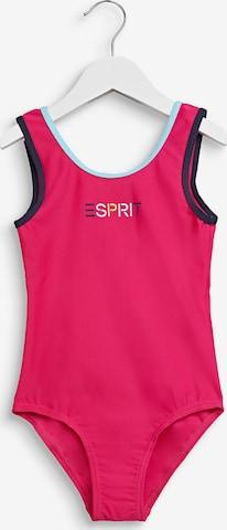 ESPRIT Badeanzug in Pink