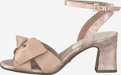 TAMARIS Sandalen met riem in de kleur Rosé / Poederroze / Pastelroze, Productweergave