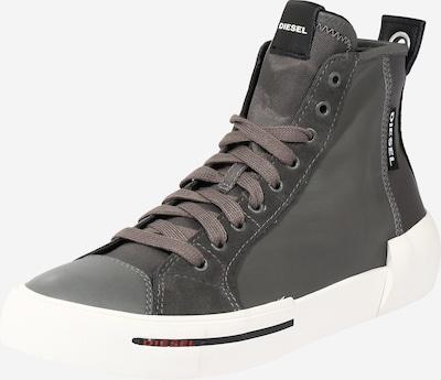 DIESEL Sneakers hoog in de kleur Rookgrijs, Productweergave
