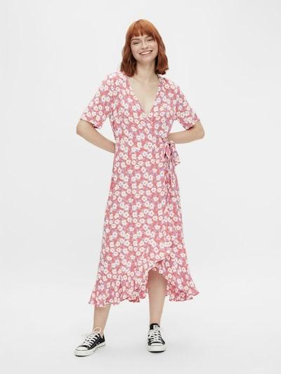 PIECES Kleid 'Kate' in helllila / lachs / weiß, Modelansicht