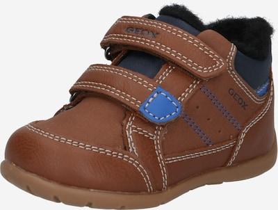 GEOX Sneaker 'ELTHAN' in navy / cognac, Produktansicht