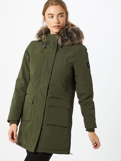 ONLY Mantel 'Sally' in beige / grün, Modelansicht