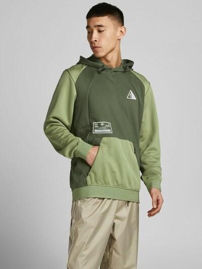JACK & JONES Sweatshirt in de kleur Kaki / Grasgroen: Vooraanzicht