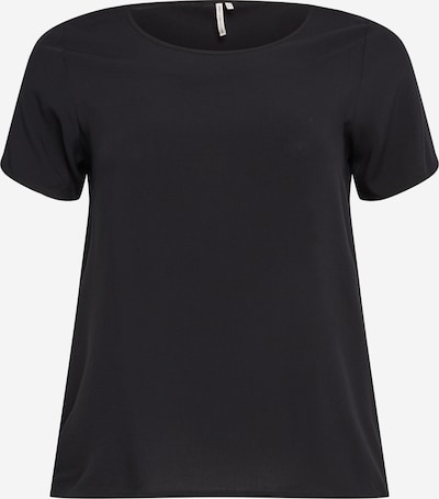 ONLY Carmakoma Shirt 'Firstly' in Black, Item view